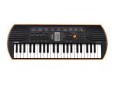 Детский синтезатор Casio SA-76 (44 мини-клавиши) - оранжевый