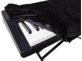 Накидка для цифрового пианино универсальная Casio 88S Черная
