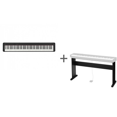 Комплект Цифровое фортепиано Casio CDP-S100BK + Подставка Casio CS-46P