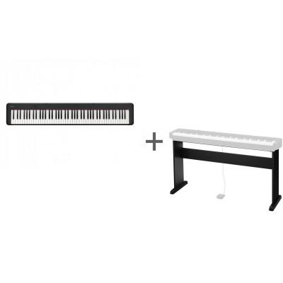 Комплект Цифровое фортепиано Casio CDP-S150BK + Подставка Casio CS-46P