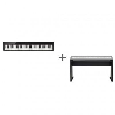Комплект Цифровое фортепиано Casio Privia PX-S1000BK + Подставка Casio CS-68PBK