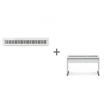 Комплект Цифровое фортепиано Casio Privia PX-S1000WE + Подставка Casio CS-68PWE