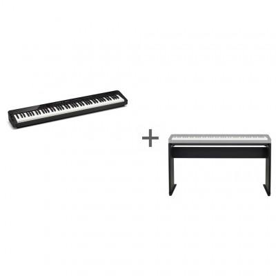 Комплект Цифровое фортепиано Casio Privia PX-S3000BK + Подставка Casio CS-68PBK