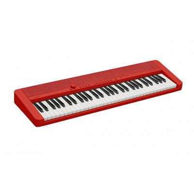 Синтезатор Casio CT-S1 (61 клавиша) - красный