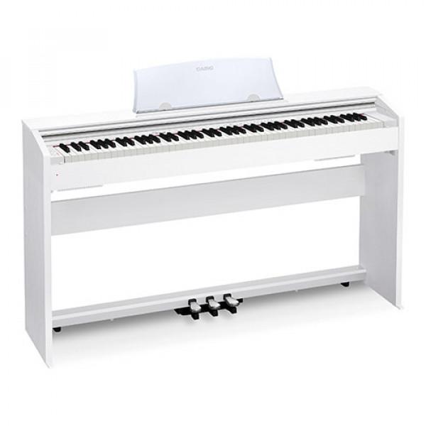 Цифровое фортепиано Casio Privia PX-770WE - белое
