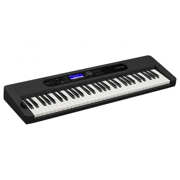 Синтезатор Casio CT-S400 (61 клавиша) - чёрный