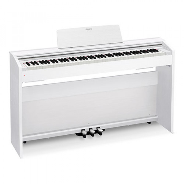 Цифровое фортепиано Casio Privia PX-870WE - белое