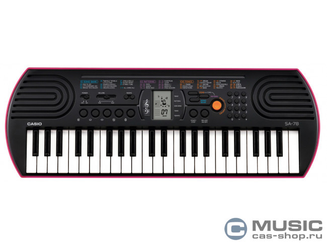 SA-78 (44 мини-клавиши) 00000000491 в фирменном магазине Casio